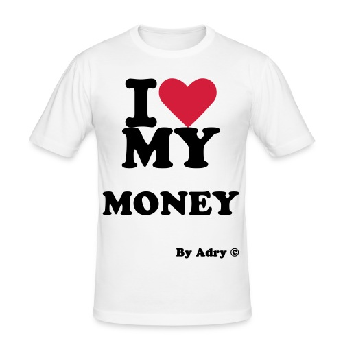 I Love My Money - T-shirt près du corps Homme