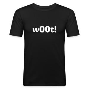 w00t - Slim Fit T-skjorte for menn