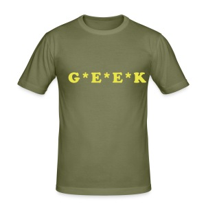 G*E*E*K - Men's Slim Fit T-Shirt