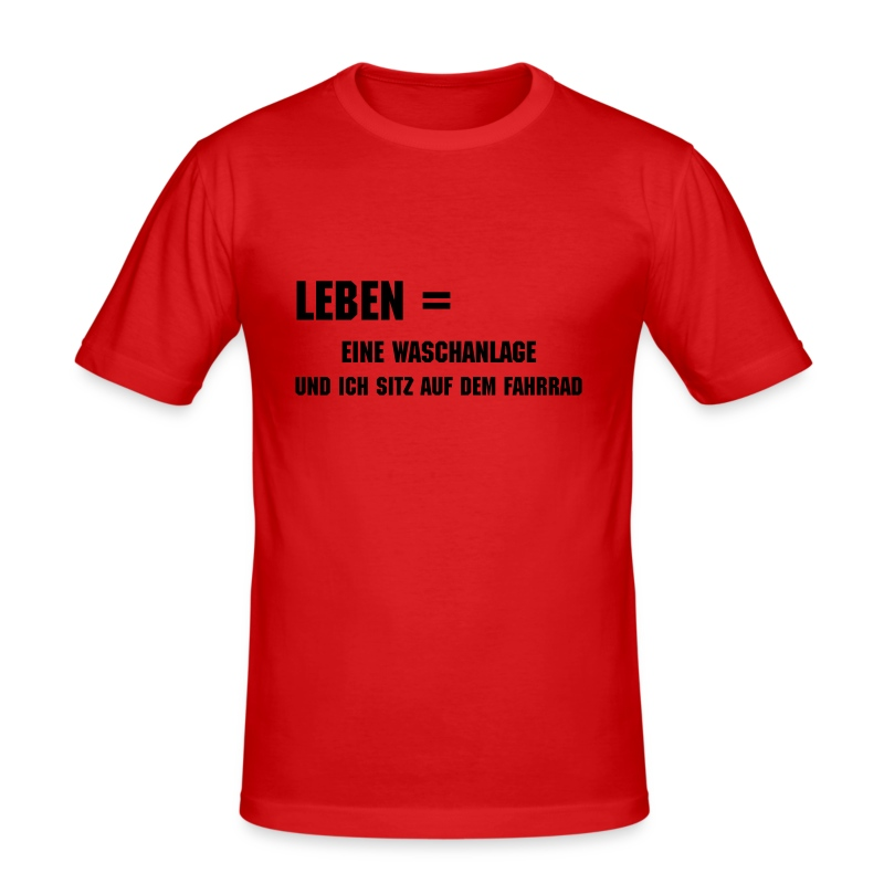 Waschanlage / men - Männer Slim Fit T-Shirt