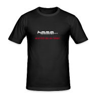 T-Shirts ~ Männer Slim Fit T-Shirt ~ hmmm / men