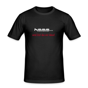 hmmm / men - Männer Slim Fit T-Shirt