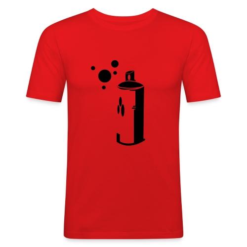 spray - Männer Slim Fit T-Shirt