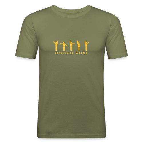 Interface Group - T-shirt près du corps Homme