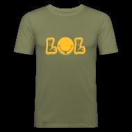 Tee shirts ~ Tee shirt près du corps Homme ~ ::LoL Slim:: COULEUR AU CHOIX