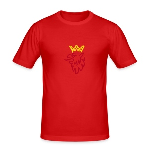 Saab Griffin - Men's Slim Fit T-Shirt