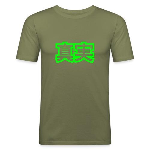 Slim Fit Shirt - Männer Slim Fit T-Shirt