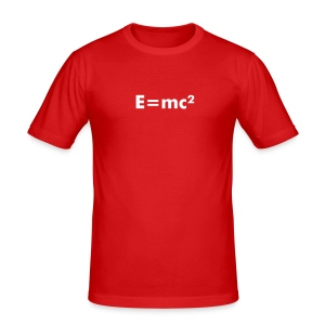 E=mc² - Männer Slim Fit T-Shirt
