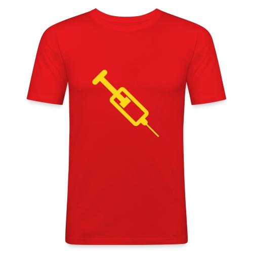 Spritze - Männer Slim Fit T-Shirt