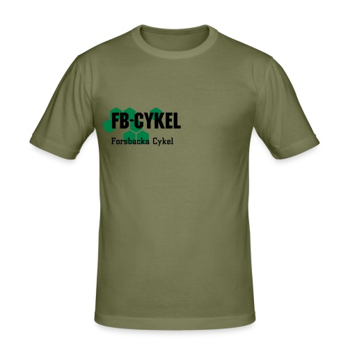 FB T-shirt. - Slim Fit T-shirt herr