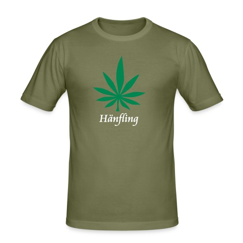 Hänfling - Männer Slim Fit T-Shirt