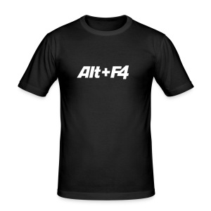 Alt+F4 - Männer Slim Fit T-Shirt