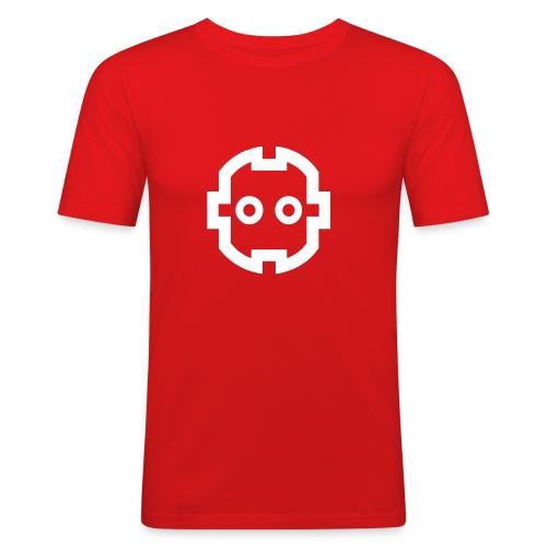Steckdose - Männer Slim Fit T-Shirt