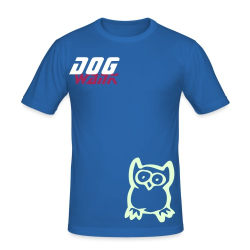 DW OWL GID ss - Men's Slim Fit T-Shirt