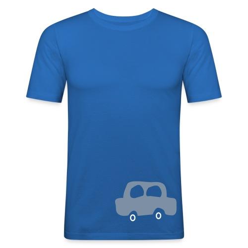 My car - Slim Fit T-skjorte for menn