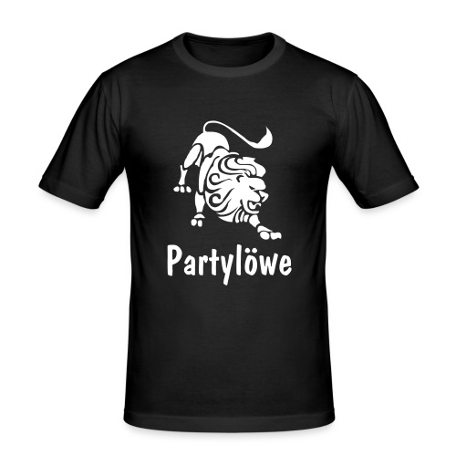 Partylöwe4 - Männer Slim Fit T-Shirt