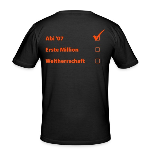Masterplan - Männer Slim Fit T-Shirt