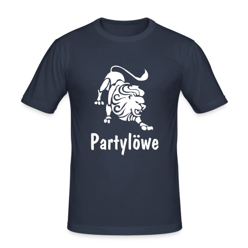 Partylöwe1 - Männer Slim Fit T-Shirt