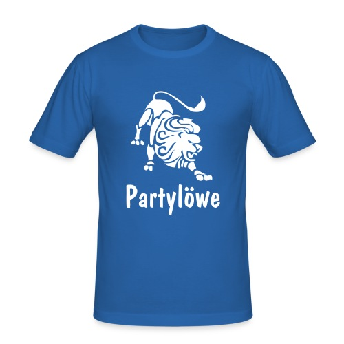 Partylöwe3 - Männer Slim Fit T-Shirt