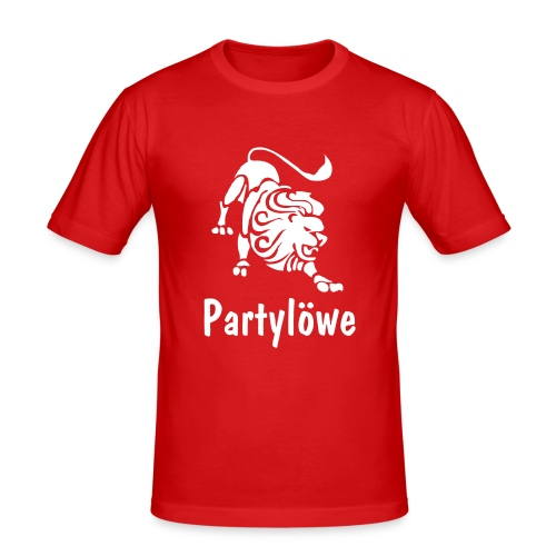 Partylöwe2 - Männer Slim Fit T-Shirt