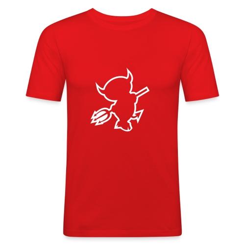 DIABLE ROUGE - T-shirt près du corps Homme