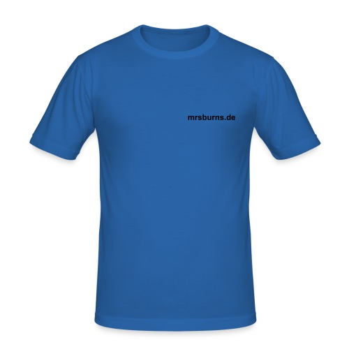 mrsburns.de Men's Slim Fit T-Shirt (sky blue) - Männer Slim Fit T-Shirt