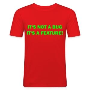 No bug t-skjorte - Slim Fit T-skjorte for menn