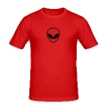 Dark orange Alien T-Shirts