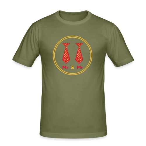 Mr & Mr - Men's Slim Fit T-Shirt