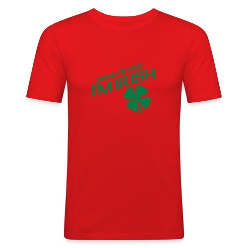 T-shirt orange irlandais - T-shirt près du corps Homme