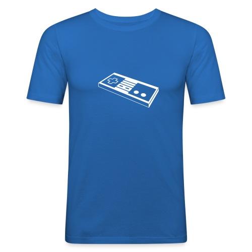 TRIUM men nes/blue - T-shirt près du corps Homme