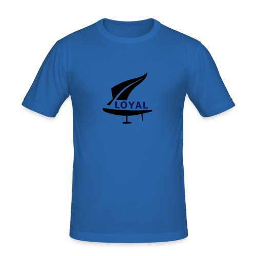 Team NZ Loyal Style - Men's Slim Fit T-Shirt