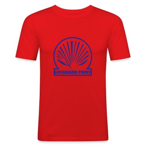 Retro - Slim Fit T-skjorte for menn