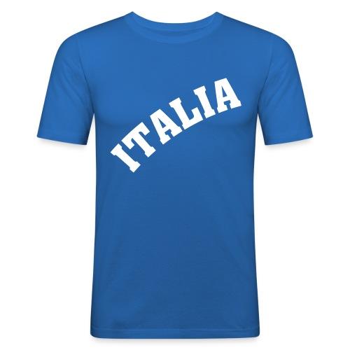 Italia Shirt Bl - T-shirt près du corps Homme
