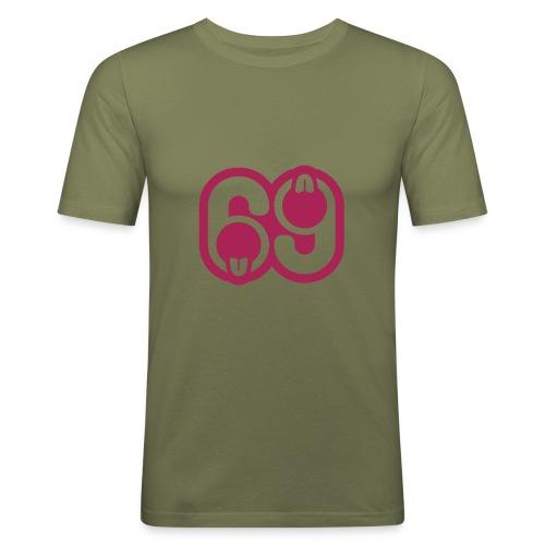 Soixante-neuf - T-shirt près du corps Homme