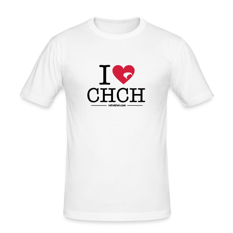 I Love Christchurch - Men's Slim Fit T-Shirt