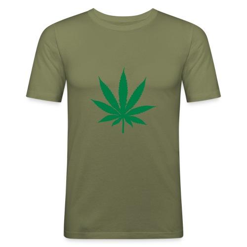 Fumer c'est pas bien!!! - T-shirt près du corps Homme