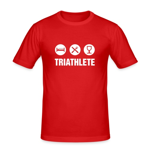 Triathlète - T-shirt près du corps Homme