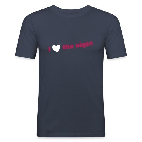 Love night - T-shirt près du corps Homme