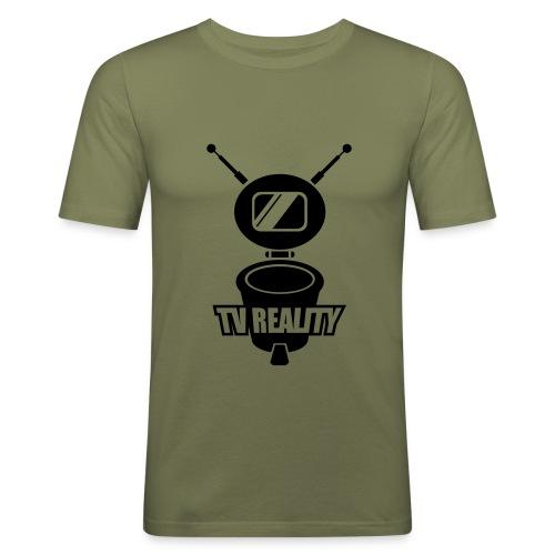 TV - Männer Slim Fit T-Shirt