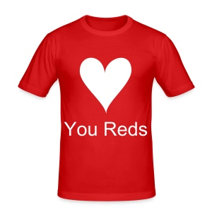 Womens You Reds T-Shirt - Men's Slim Fit T-Shirt