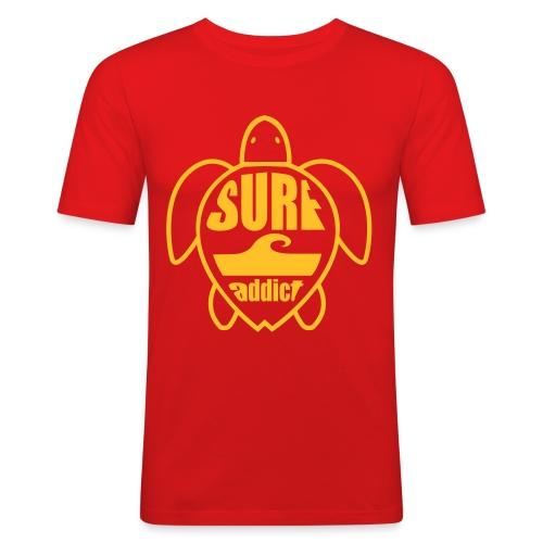 Beach Club Surfs Up T - Men's Slim Fit T-Shirt