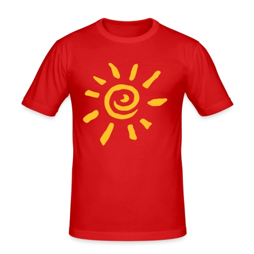 Beach Club Sun T - Men's Slim Fit T-Shirt