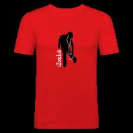 T-Shirts ~ Men's Slim Fit T-Shirt ~ iZombie Slim Fit Shirt