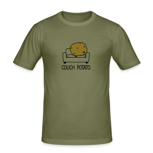 Couch Potato T-Shirt - Men's Slim Fit T-Shirt