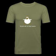 T-Shirts ~ Männer Slim Fit T-Shirt ~ Unbekannter Engel