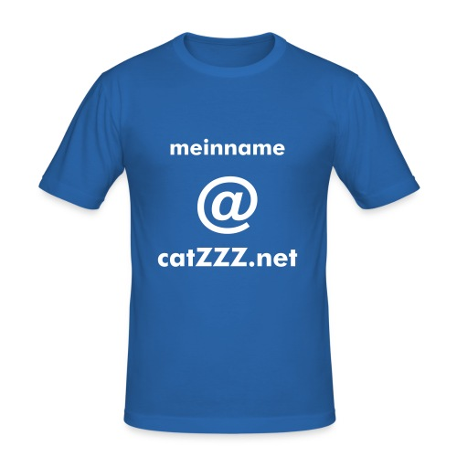 catZZZ.net Mail-Shirt - Männer Slim Fit T-Shirt