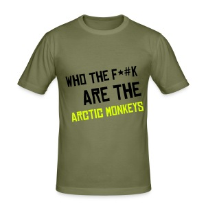 Who The F*#K Are The Arctic Monkeys - Men's Slim Fit T-Shirt