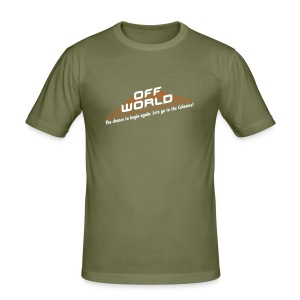Off-World - Men's Slim Fit T-Shirt