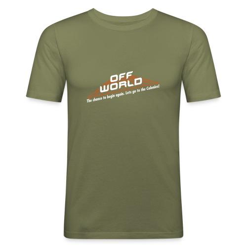 Off-World - Men's Slim Fit T-Shirt